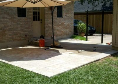 patio tile installation